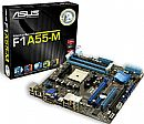 Asus F1A55-M (AMD FM1 - DDR3 2250) Vídeo VGA/DVI - Chipset AMD A55 - CrossFireX - TurboV