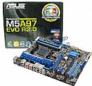Asus M5A97 EVO R2.0 (AM3+ - DDR3 2133) TDP 140W - Chipset AMD 970 - USB 3.0