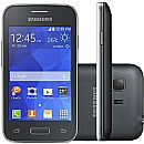 "Smartphone Samsung Galaxy Young 2 Pro - Tela 3,5"", Dual Core 1.2GHz, 4GB, Dual Chip - Cinza - SM-G130BU/DS"