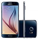 "Smartphone Samsung Galaxy S6 - Tela 5.1"" Super Amoled Quad HD, Câmera 16MP, 32GB, 4G, Octa Core - SM-G920I Preto *Seminovo"