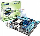Asus M4A78LT-M LE (AM3 - DDR3 1333) - TDP 95W - Chipset AMD 760G