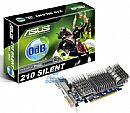 GeForce GT 210 1GB DDR3 Silent 0dB - DVI/HDMI/VGA - Low Profile - PCI-E - Asus EN210