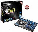 Asus P8H61 B3 (LGA 1155 - DDR3 1333) Chipset Intel H61 - TurboV Real-Time OverClock