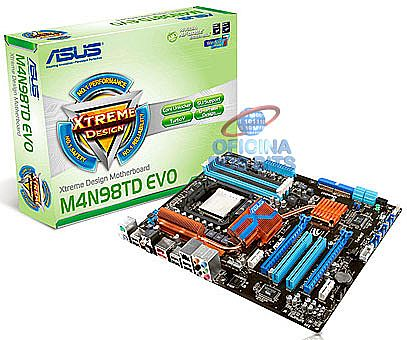 Asus M4N98TD EVO (AM3 - DDR3 2000) TDP 140W - Chipset NVIDIA nForce 980a - TurboV - HyperTransport 3