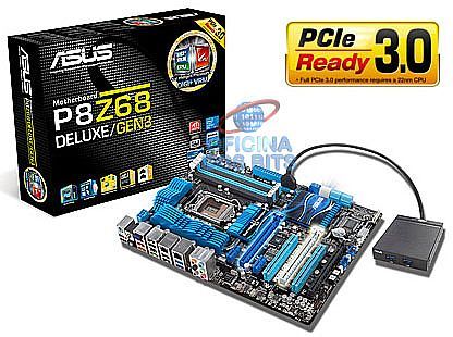 Asus P8Z68 Deluxe/GEN3 (LGA 1155 - DDR3 2200) Chipset Intel Intel Z68 - PCI-Express 3.0 - USB 3.0