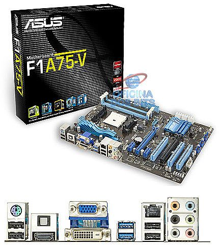 Asus F1A75-V (AMD FM1 - DDR3 2250) Chipset AMD A75 - USB 3.0 - SATA 6Gb/s - CrossFireX