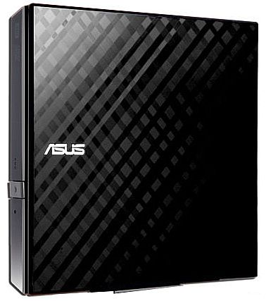 Gravador DVD Externo Asus Slim - USB - SDRW-08D2S-U - BOX - Disc Encryption II