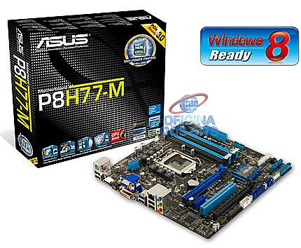 Asus P8H77-M (LGA 1155 - DDR3 2200) Chipset Intel H77 - USB3.0 - Intel Smart Connect - GPU Boost