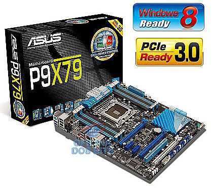 Asus P9X79 (LGA 2011 - DDR3 2133) Chipset Intel X79 - USB3.0 - SATA 6GB/s - USB BIOS Flashback