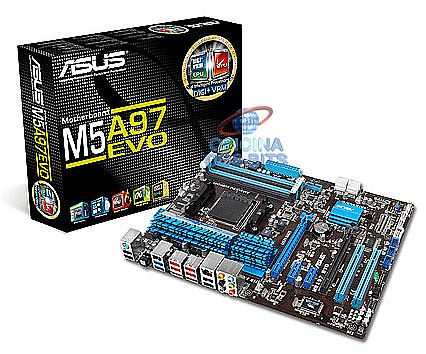 Asus M5A97 EVO (AM3+ - DDR3 2133) - Chipset AMD 970 - USB 3.0 - Quad-GPU CrossFireX