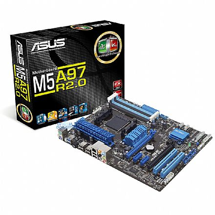 Asus M5A97 R2.0 (AM3+ - DDR3 2133) TDP 140W - Chipset AMD 970 - USB 3.0 Boost - Remote GO