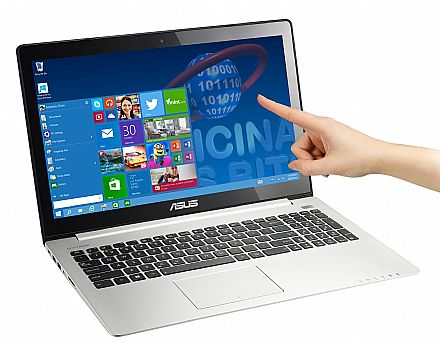 "Asus Vivobook S400CA-BRA-CA215H - Tela 14"" Touchscreen, Intel Core i5, 12GB, HD 1TB, Vídeo Intel HD"
