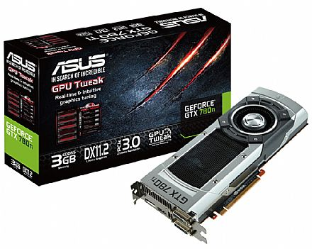 GeForce GTX 780Ti 3GB GDDR5 384bits - GTX780Ti-3GD5