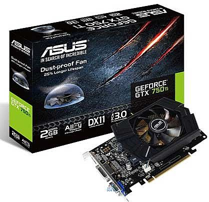 GeForce GTX 750Ti 2GB GDDR5 128bits - GTX750TI-PH-2GD5