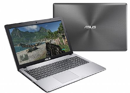"Asus X550LN-BRA-DM552H - Tela 15.6"" LED, Intel i7, 8GB, HD 1TB, Vídeo GeForce GT 840M 2GB"