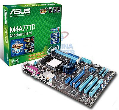 Asus M4A77TD (AM3 - DDR3 1800) TDP 140W - Chipset AMD 770