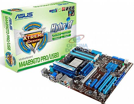 Asus M4A89GTD PRO/USB3 (AM3 - DDR3 1333) TDP 140W - Chipset AMD 890GX - USB 3.0