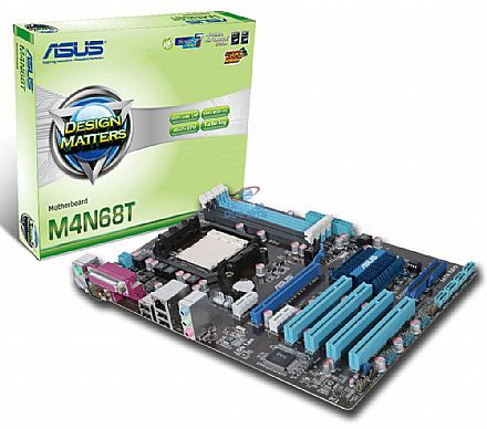 Asus M4N68T (AM3 - DDR3 1800) TDP 125W - Chipset NVIDIA nForce 630a