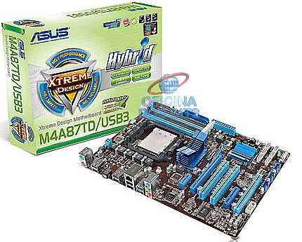 Asus M4A87TD/USB3 (AM3 - DDR3 2000) TDP 140W - Chipset AMD 870 - USB 3.0
