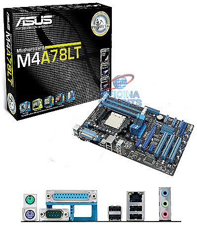 Asus M4A78LT (AM3 - DDR3 2000) TDP 125W - Chipset AMD 760G - Turbo Key - Core Unlocker