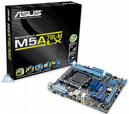 Asus M5A78L-M LX (AM3+ - DDR3 1866) Video Radeon HD 3000 VGA -TDP 95W - Chipset AMD 760G - Turbo Key